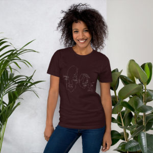 White Logo Sweet Nothings Unisex Tee